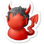 64x64px size png icon of Devil