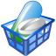 64x64px size png icon of Drug basket