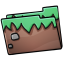 64x64px size png icon of Folder Grass