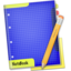 64x64px size png icon of Blue NoteBook