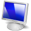 64x64px size png icon of Monitor