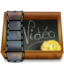 64x64px size png icon of Dossier ardoise video