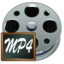 64x64px size png icon of Fichiers mp 4