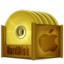 64x64px size png icon of HDD OSX