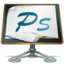 64x64px size png icon of Photoshop old school