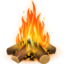 64x64px size png icon of Fire