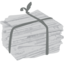 64x64px size png icon of paper