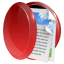 64x64px size png icon of folder live data