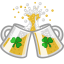 64x64px size png icon of beer clink cheers