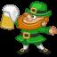 64x64px size png icon of leprechaun