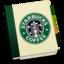 64x64px size png icon of StarbucksAddressBookV1 by chekkz