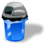 64x64px size png icon of Garbage can