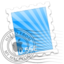 64x64px size png icon of Blue Rays