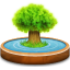 64x64px size png icon of Family Tree