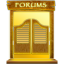 64x64px size png icon of Forums
