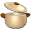 64x64px size png icon of Pot