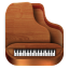 64x64px size png icon of Piano