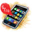 64x64px size png icon of iPhone Hello 128x128