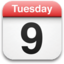 64x64px size png icon of iPhone Calendar