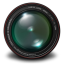 64x64px size png icon of Aperture 3 Authentic Green