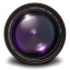 64x64px size png icon of Aperture 3 Authentic Purple