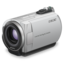 64x64px size png icon of sony handycam purple lens