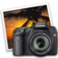 64x64px size png icon of eos 40d iphoto icon by darkdest1ny