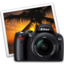 64x64px size png icon of nikon d40 iphoto icon by darkdest1ny