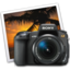 64x64px size png icon of sony a350 iphoto icon by darkdest1ny