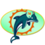64x64px size png icon of Dolphins