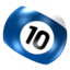 64x64px size png icon of Ball 10