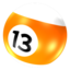 64x64px size png icon of Ball 13