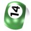 64x64px size png icon of Ball 14