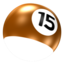 64x64px size png icon of Ball 15