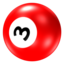 64x64px size png icon of Ball 3