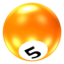 64x64px size png icon of Ball 5