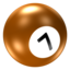 64x64px size png icon of Ball 7