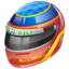 64x64px size png icon of formula 1 helmet