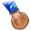 64x64px size png icon of Bronze Medal
