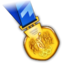 64x64px size png icon of Gold Medal