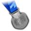 64x64px size png icon of Silver Medal