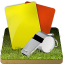 64x64px size png icon of Soccer referee grass