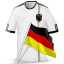 64x64px size png icon of Soccer shirt germany