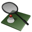 64x64px size png icon of badminton