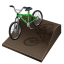 64x64px size png icon of cycling bmx