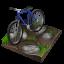 64x64px size png icon of cycling mountain biking