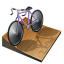 64x64px size png icon of cycling track