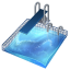 64x64px size png icon of diving