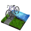 64x64px size png icon of triathlon
