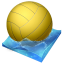 64x64px size png icon of waterpolo